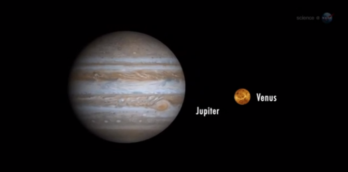 Venus, Jupiter and the moon will play coy with one another through mid-March.