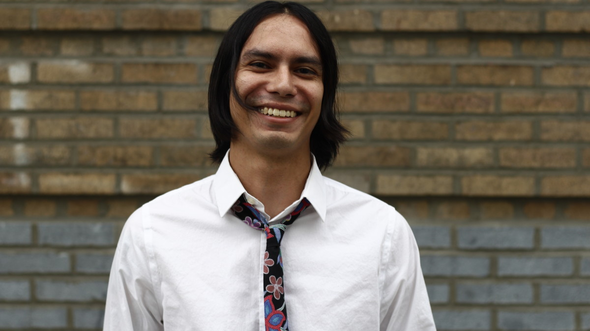 Shane McSauby (Grand Traverse Band of Ottawa & Chippewa Indians) Native Filmmaker Lab Fellow - Courtesy Sundance Institute
