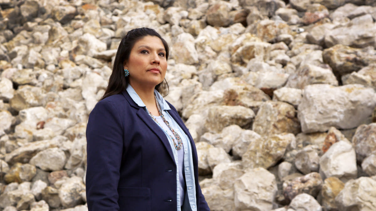 Tatewin Means is running for Attorney General of South Dakota. She is one of many Native candidates making history this #NativeVote18 election season.