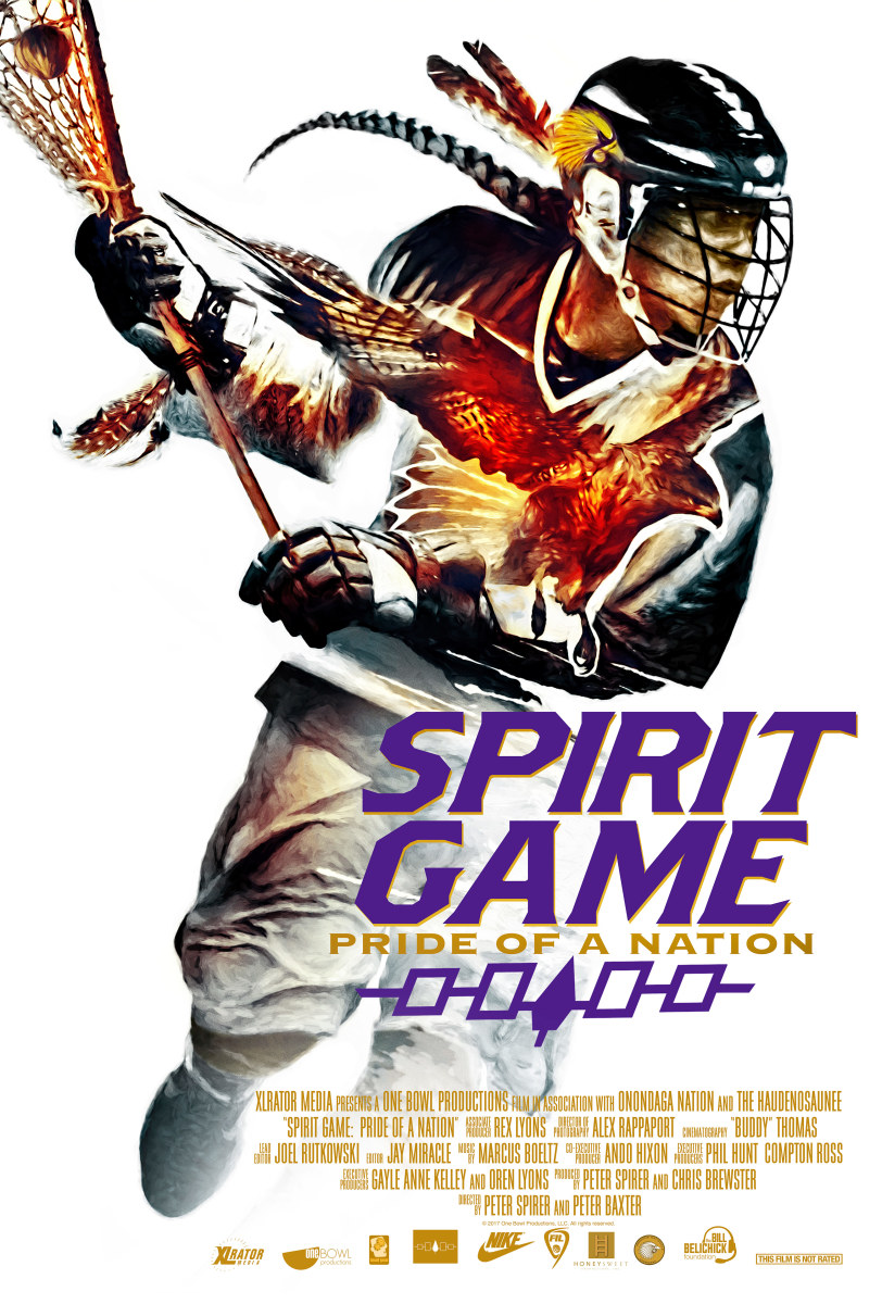 Spirit Game: Pride of a Nation movie poster.