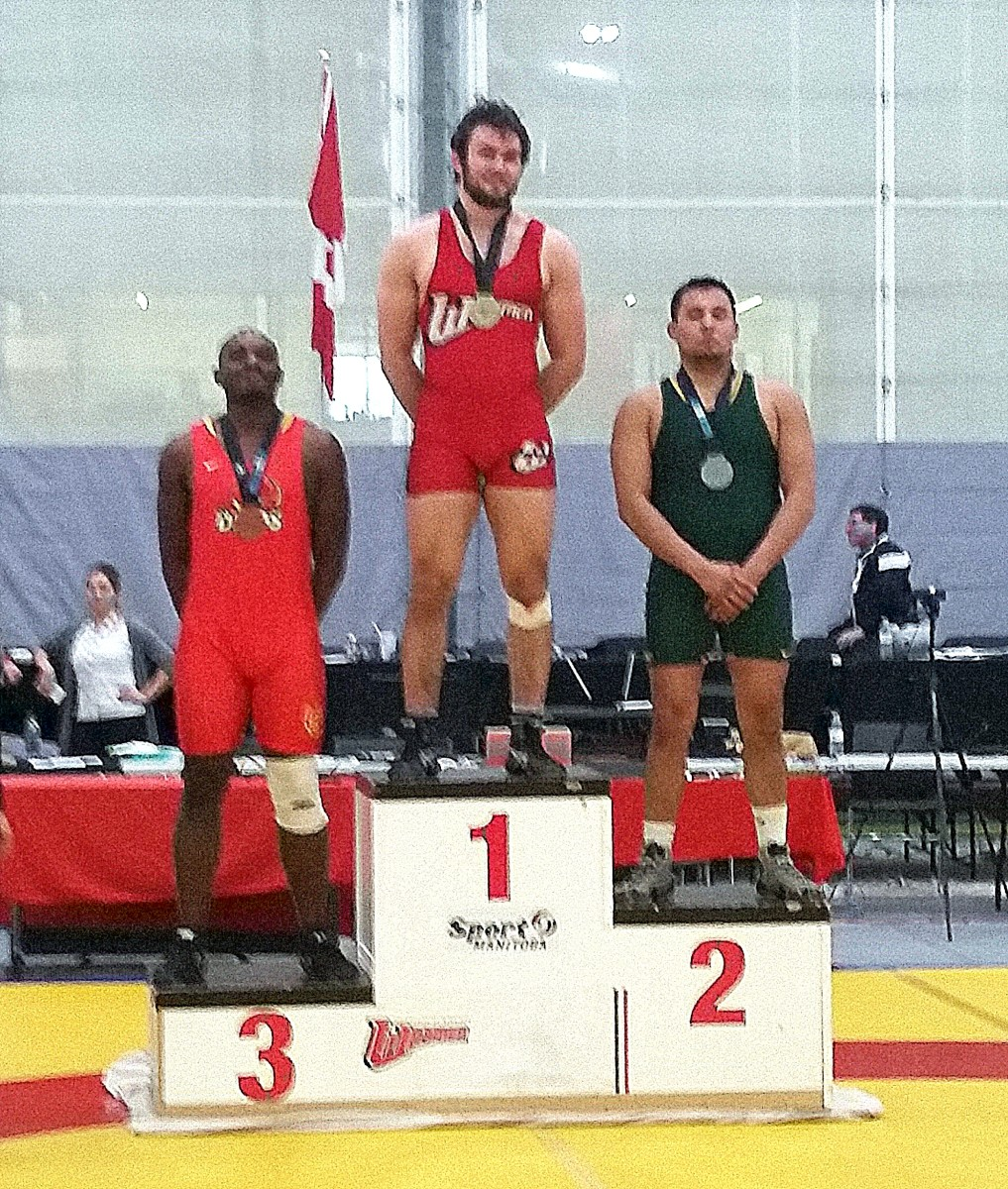 Waylon DeCoteau took 2nd overall nationally in Canada.
