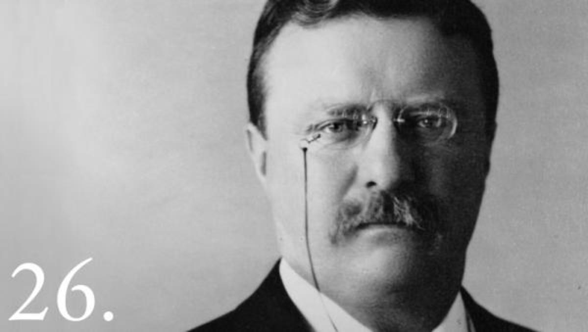 """When Theodore Roosevelt took office in 1901, he already had a long legacy of animosity toward American Indians. """"I don't go so far as to think that the only good Indians are the dead Indians, but I believe nine out of every 10 are,"""" Roosevelt said during a January 1886 speech in New York. """"And I shouldn't like to inquire too closely into the case of the tenth."""""""