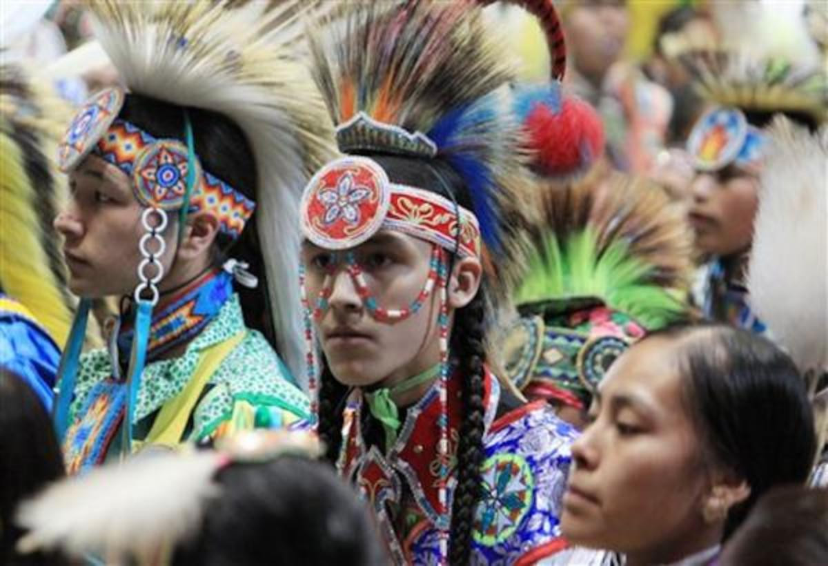 Participants attend the Gathering of Nations Powwow in New Mexico in 2013. The pandemic has forced the event - one of the largest in the country - to go virtual for a second year in 2021. It had been set for April in Albuquerque. (Photo courtesy of Gathering of Nations)
