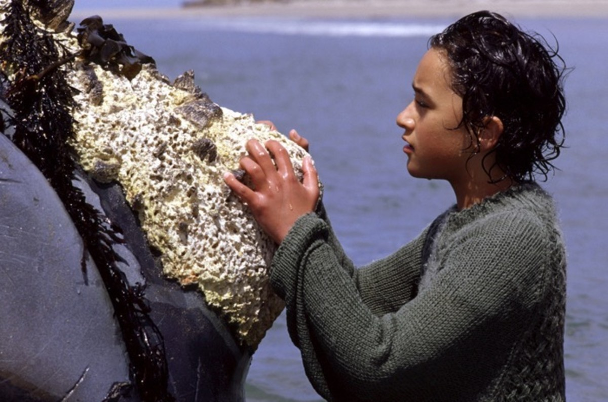 """Paikea """"Pai"""" Apirana (Maori) in Whale Rider, played by Keisha Castle-Hughes - Photo credit: ©Newmarket/courtesy Everett Collection"""