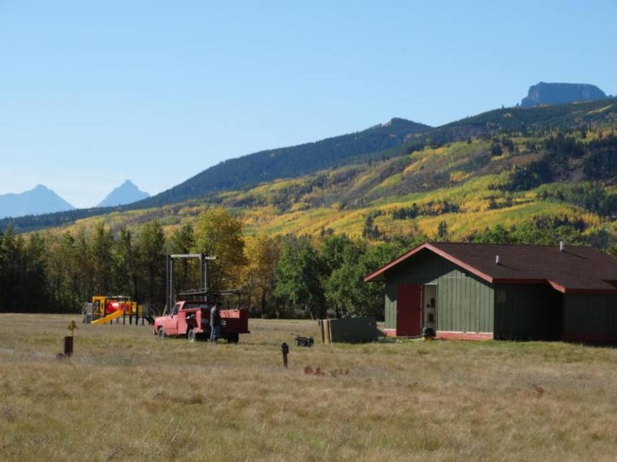 Chewing Blackbones Campground on the Blackfeet Reservation, one of several camping grounds slated for further development and upgrades with funding under the terms of the compact.
