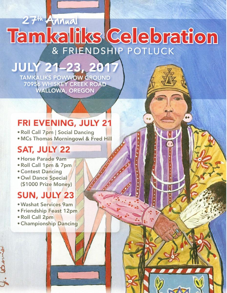 Support Traditional Nez Perce Culture at the Tamkaliks Celebration.
