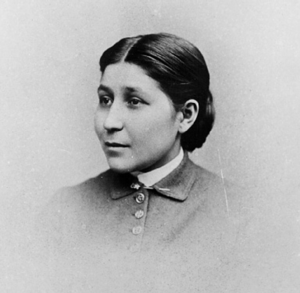 Dr. Susan La Flesche Picotte was the first Native American woman in the United States to receive a medical degree. (Courtesy National Anthropological Archives/Smithsonian Institution)