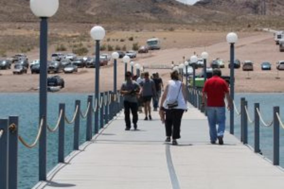Lake Mead had more than seven million visitors in 2016, according to the National Park Service. Tourism spikes during the summer, which drew nearly three million from Memorial Day to Labor Day last year.