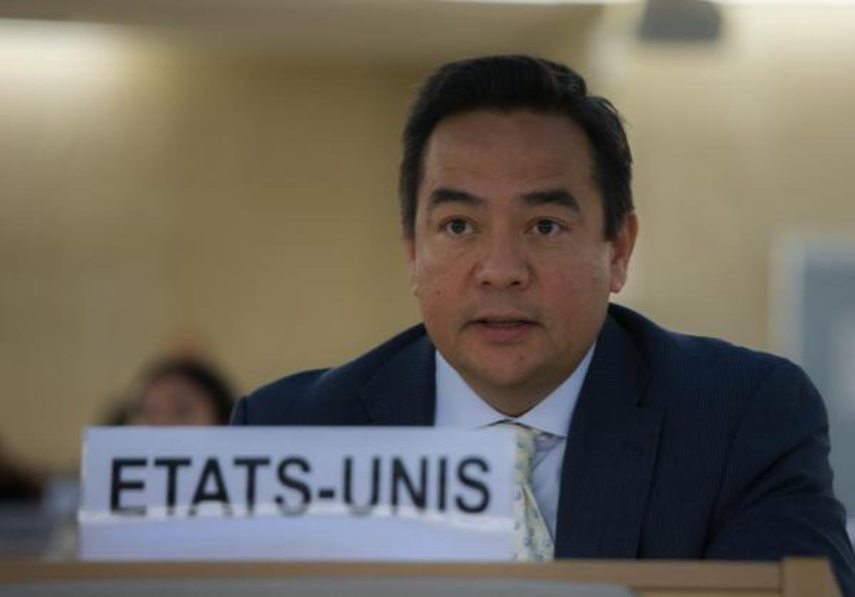 Keith Harper, Cherokee Nation citizen and U.S. Human Rights Ambassador to the United Nations.