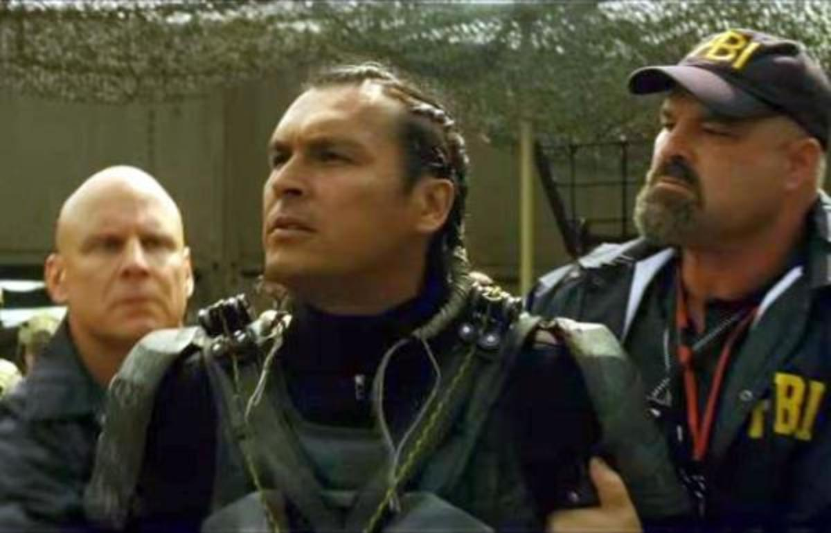 "Adam Beach as Slipknot ""Nails It"" in Third Suicide Squad Trailer"