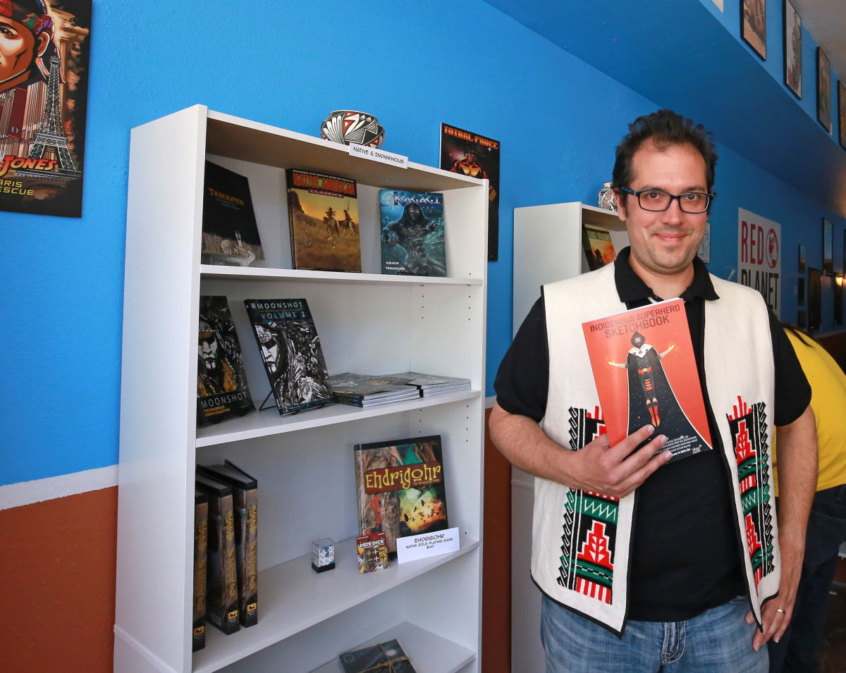 The Stan Lee of Indian Country: Comics Publisher Dr. Lee Francis.