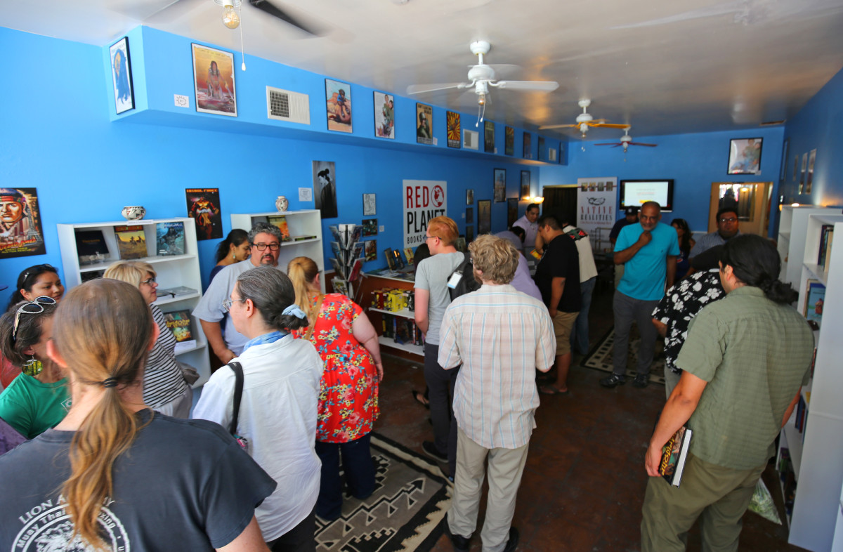 Red Planet Books and Comics in New Mexico, held its grand opening on June 3rd of 2017 to an excited crowd.