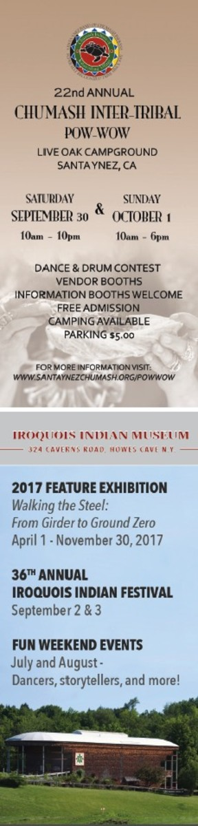 ICMN Issue #2 Master_singlepage_REPAGINATED_Page_88_Image_0001-2 COMBO_Golf_advert_22nd Annual Chumash Inter-Tribal Pow Wow_PLUS_Iroquois Indian Museum_th.jpg