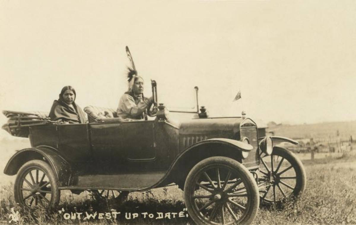 At the time, it was said that only one of ten Americans owned a car but that every Osage could afford ten cars.