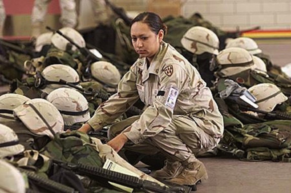 Army Specialist Lori Piestewa (Hopi), killed in action in Iraq in 2003.
