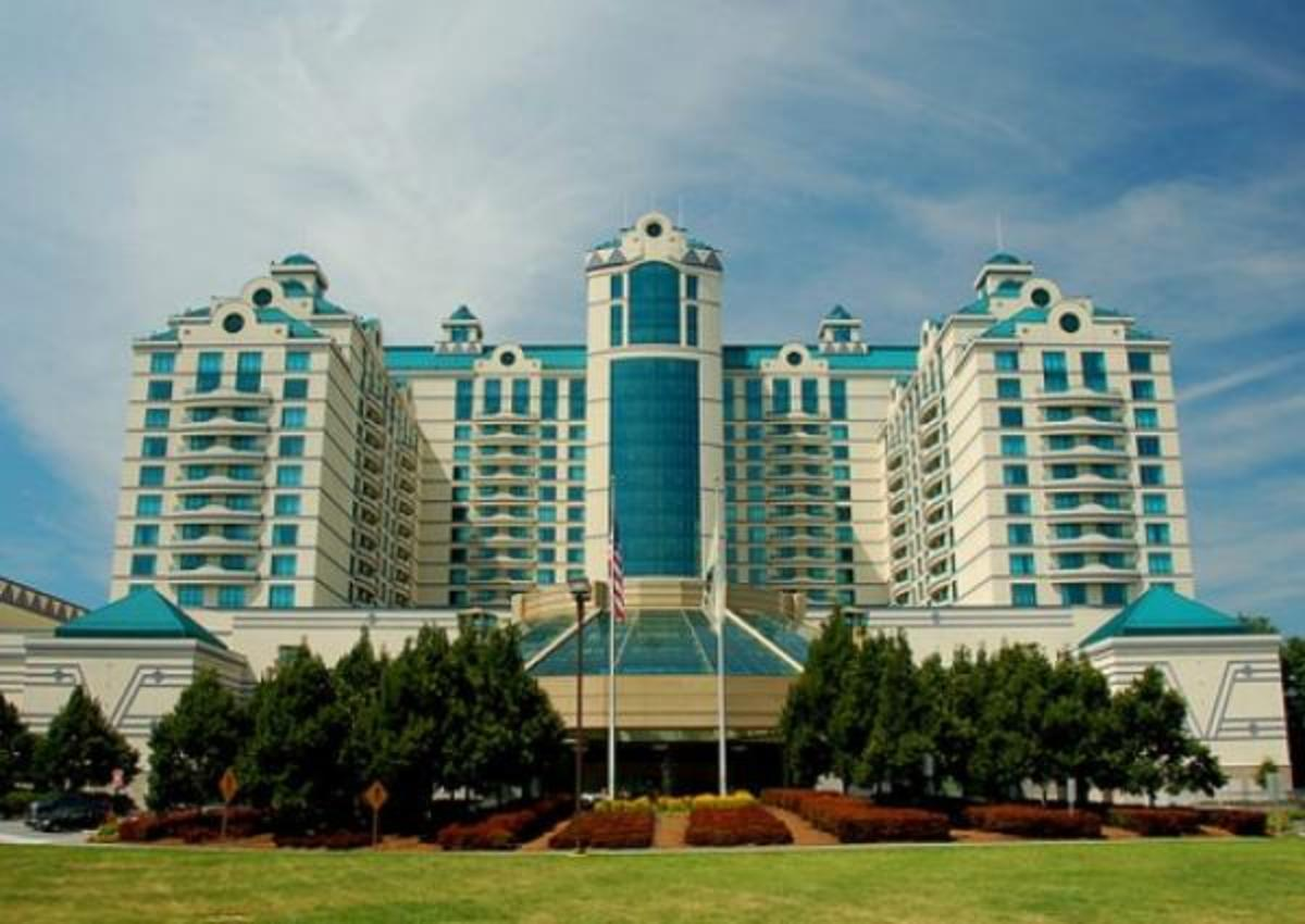 Foxwoods Casino in Connecticut / Photo courtesy of Foxwoods Casino and Resort