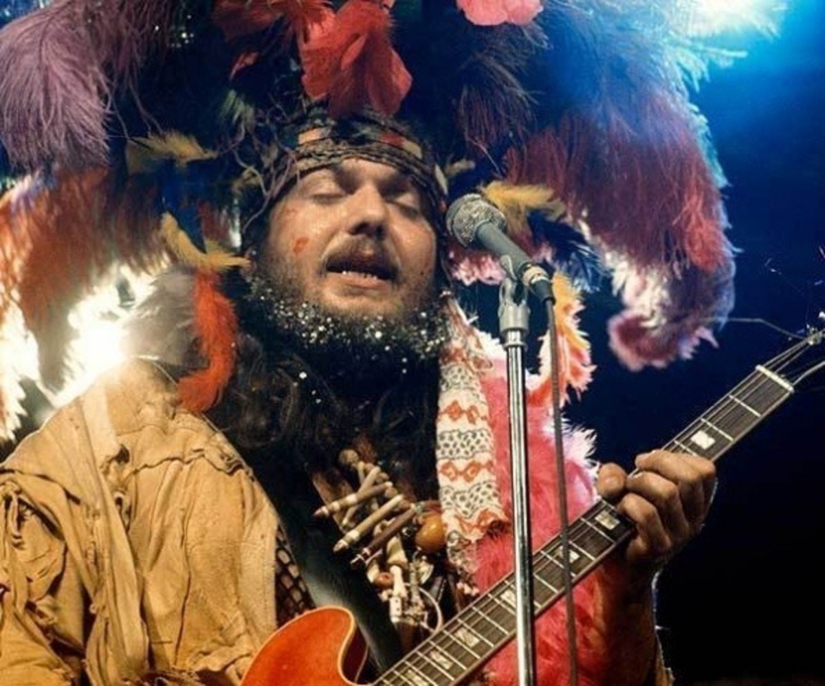 Dr. John performs live on stage at the Montreux Jazz Festival in Montreux, Switzerland in July 1973