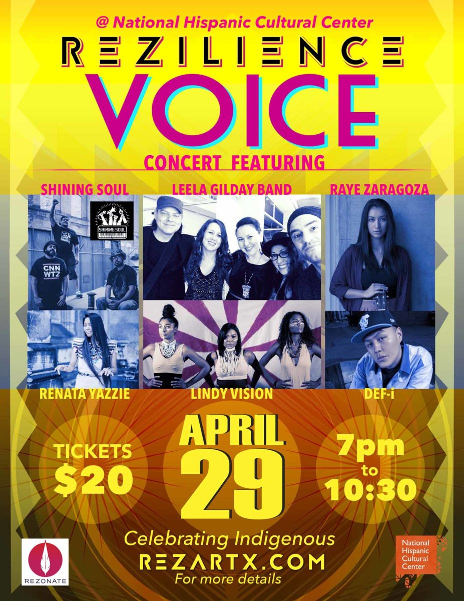 The VOICE Concert is the big event at REZILIENCE.