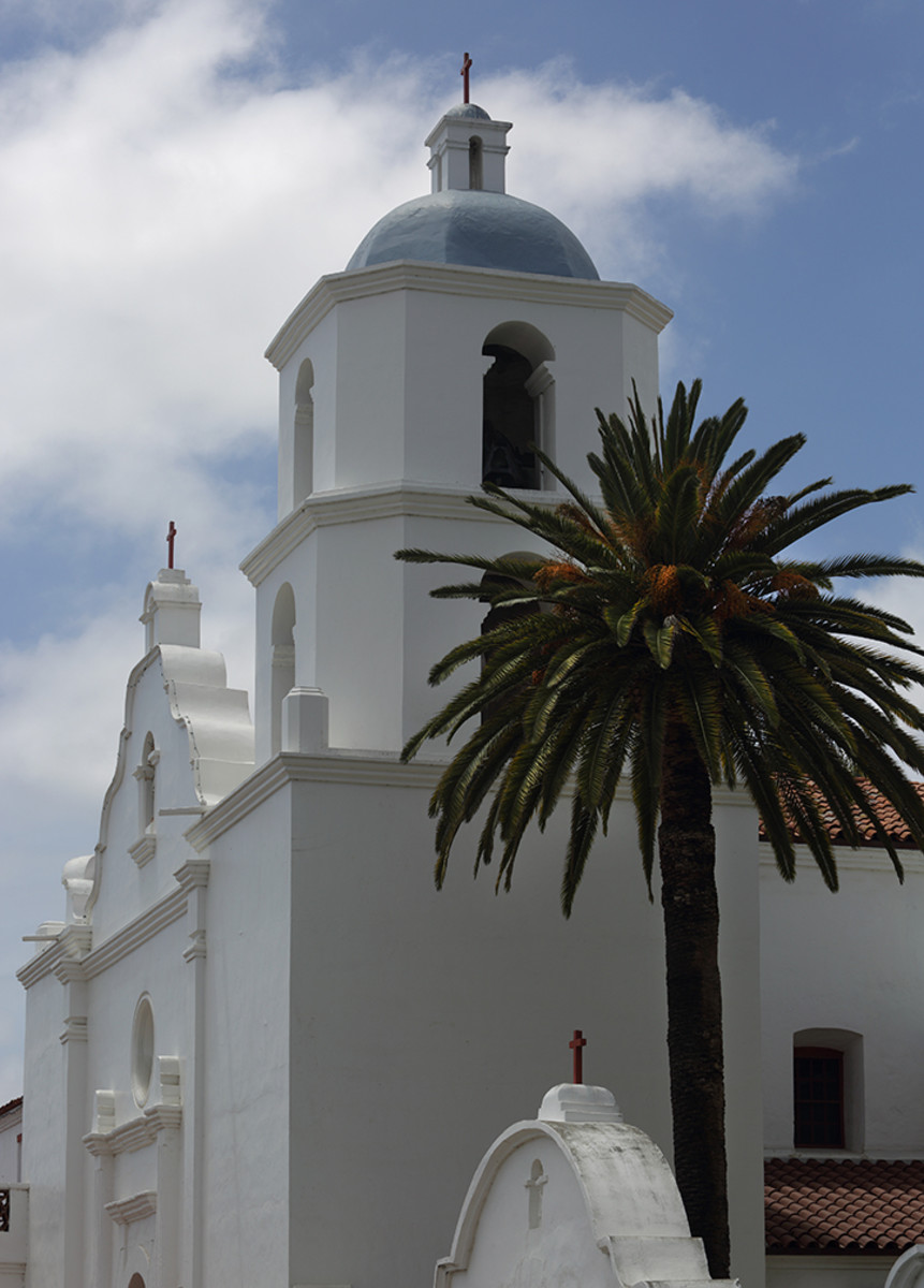 """Nicknamed the """"King of the Missions,"""" the Mission San Luis Rey was established by the Spaniards in 1798 as part of the El Camino Real Trail. Diego James Robles"""