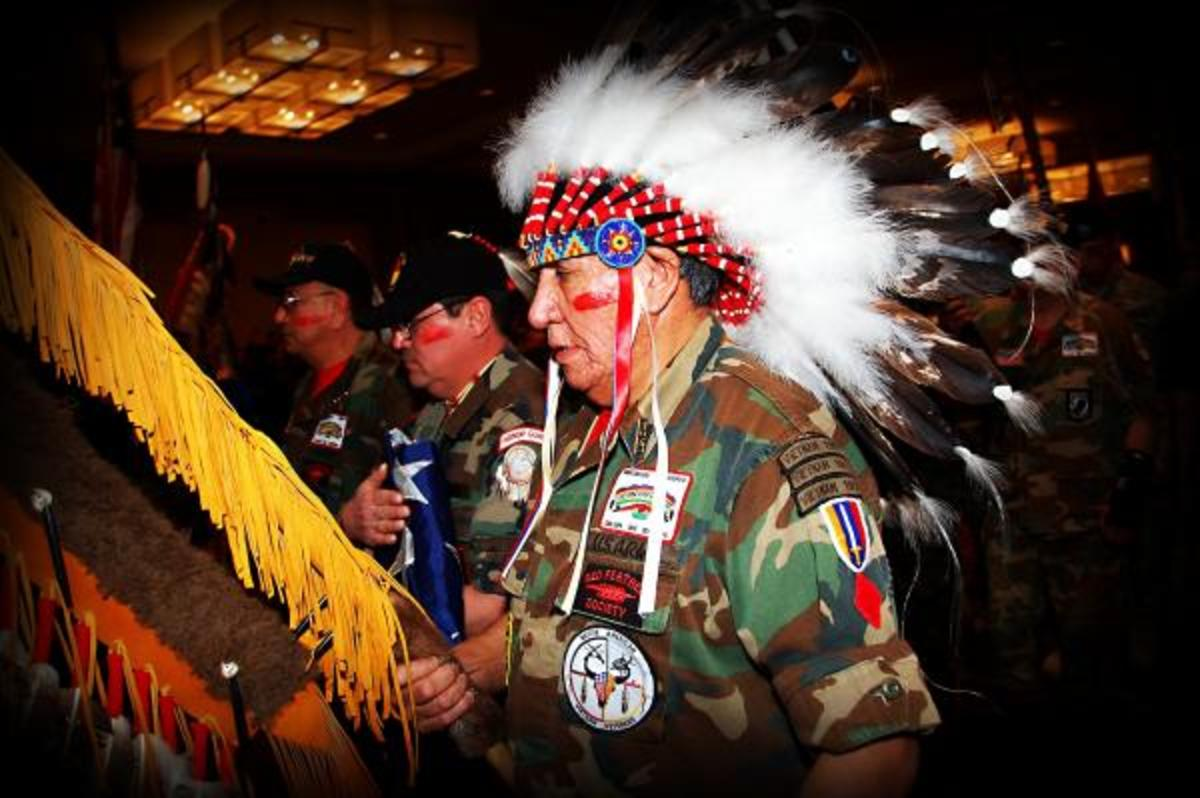 Celebrating Armed Forces Day: How to Spot a Native American Veteran