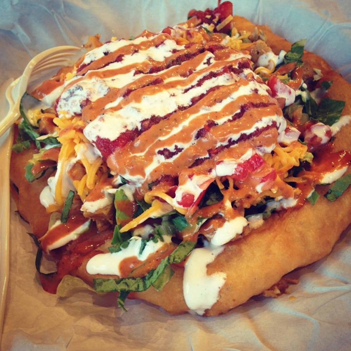 Addicted to this place. #frybread #tocabe