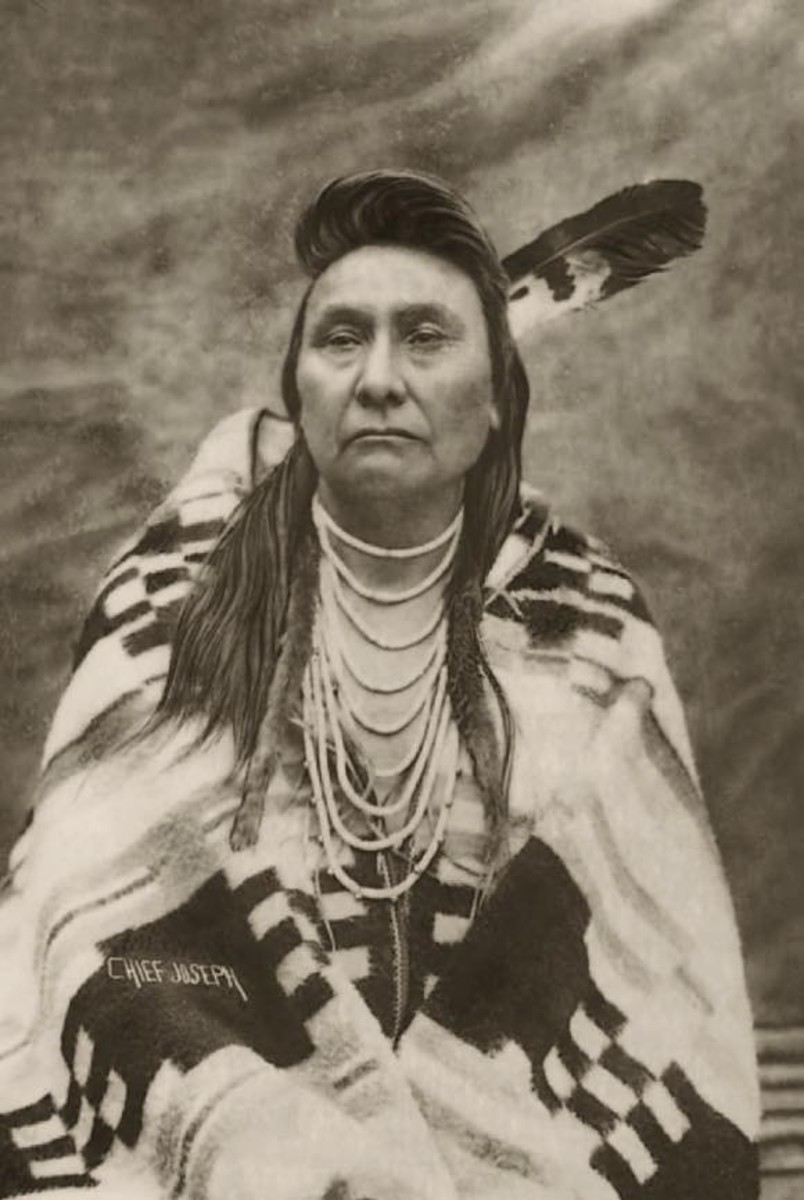 JoAnn Kauffman, MIDDLE: After the epic flight of the Nez Perce, Chief Joseph surrendered to the U.S. Calvary in 1877.