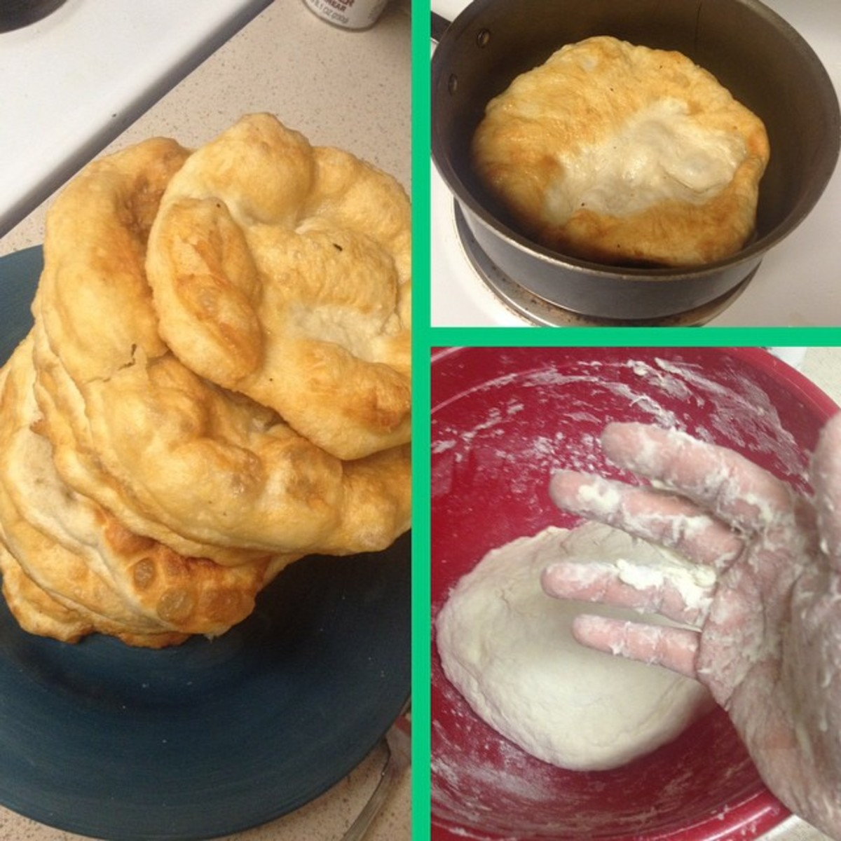 I can make dough & Frybread! :