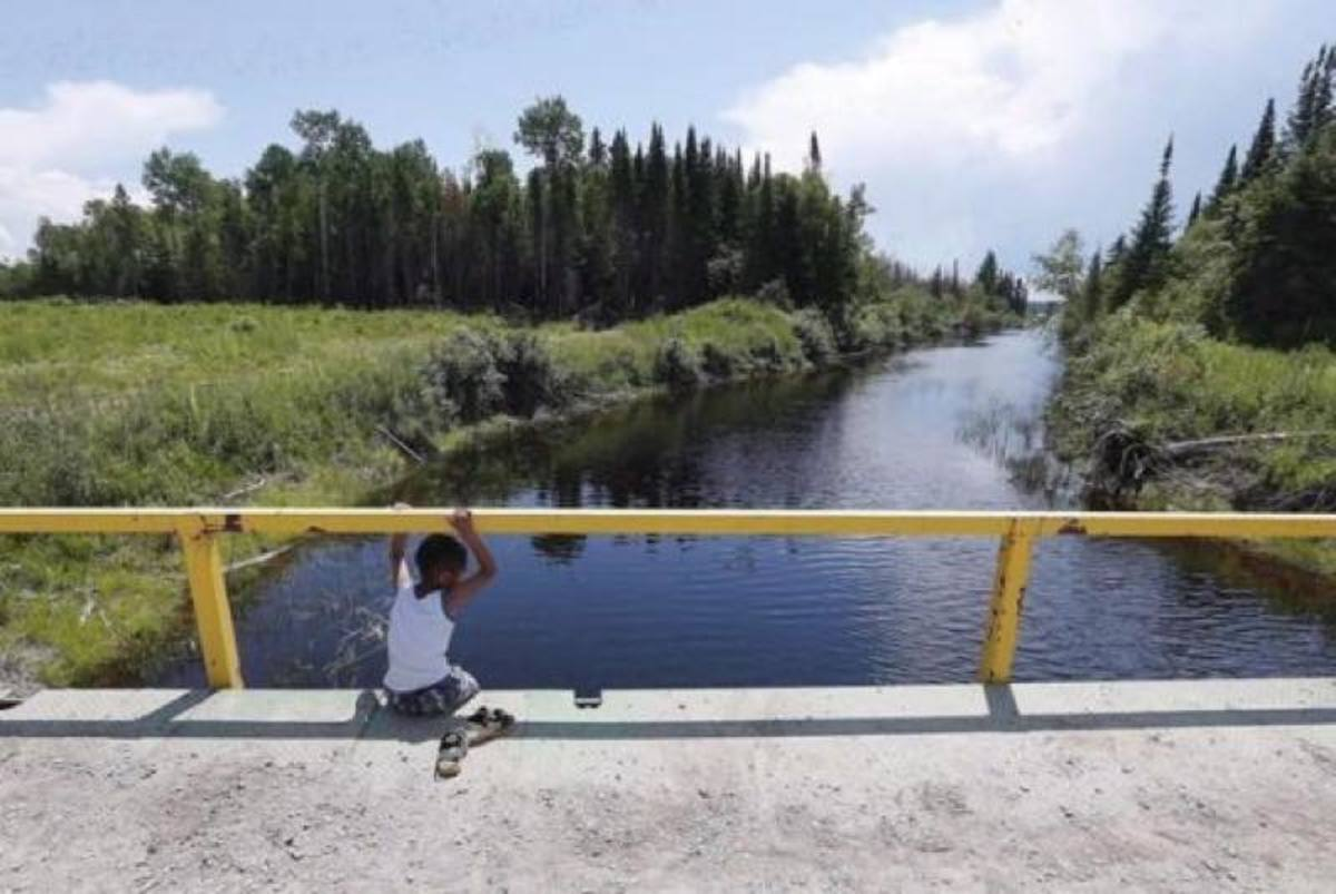 Shoal Lake First Nation is among the 153 indigenous communities under a water-boil advisory as Canada celebrates its 150th birthday.