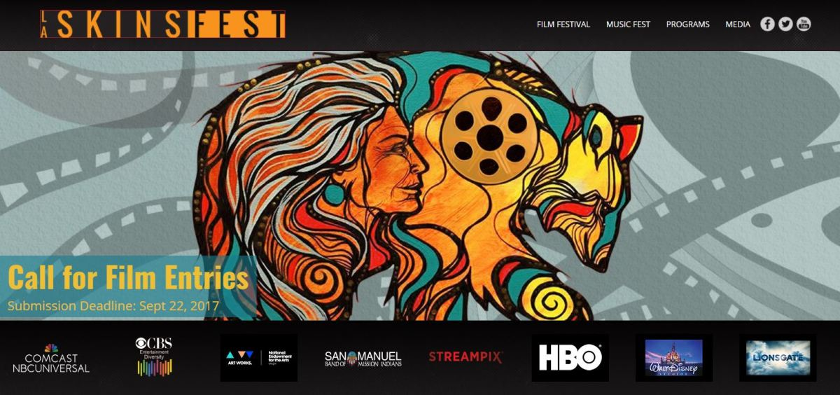 LA Skins Fest has listed a call for film entries with a deadline of September 22nd, 2017.