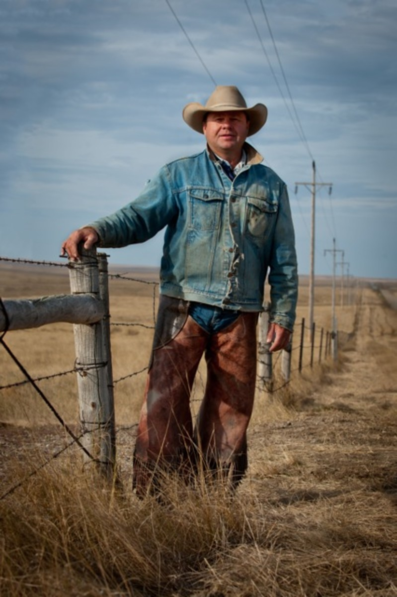 Rancher Sean Deal on the Cheyenne River Reservation.