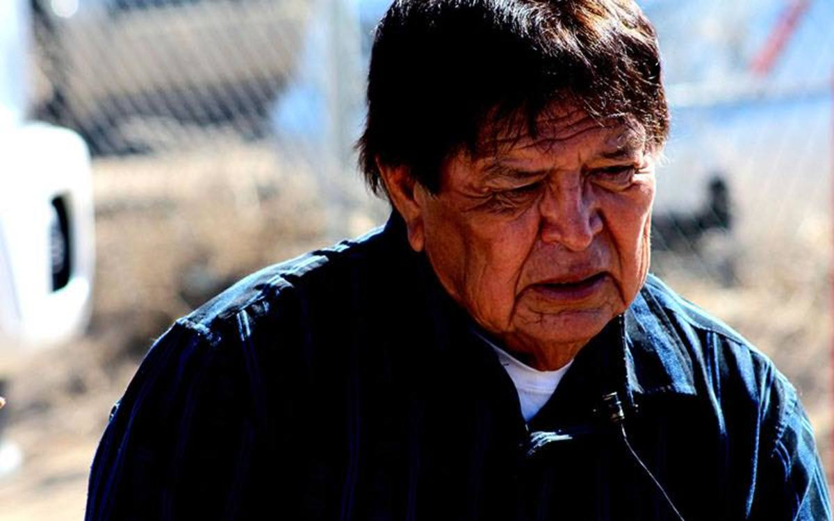 Gregory Holiday, a member of the Navajo Nation, said even if he had access to running water he doesn't trust that it is safe to drink, saying long-term uranium mining in the area contaminated the water.