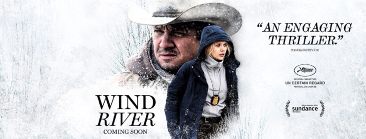 Wind River poster, produced by the Weinstein Company.