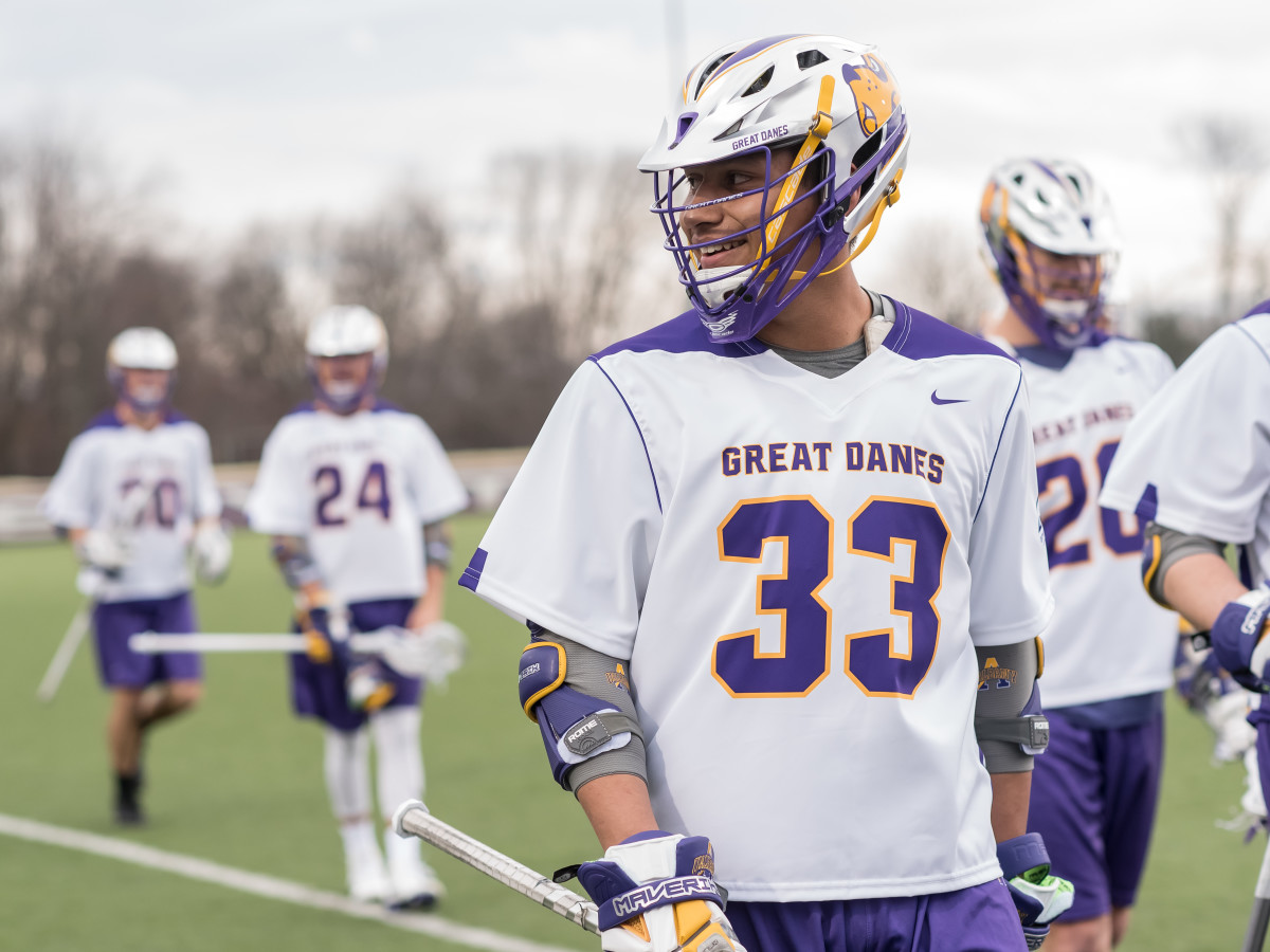 University of Albany's Indian Country-heavy team has posted a 15-3 record on the season. Eight of their athletes are Native.