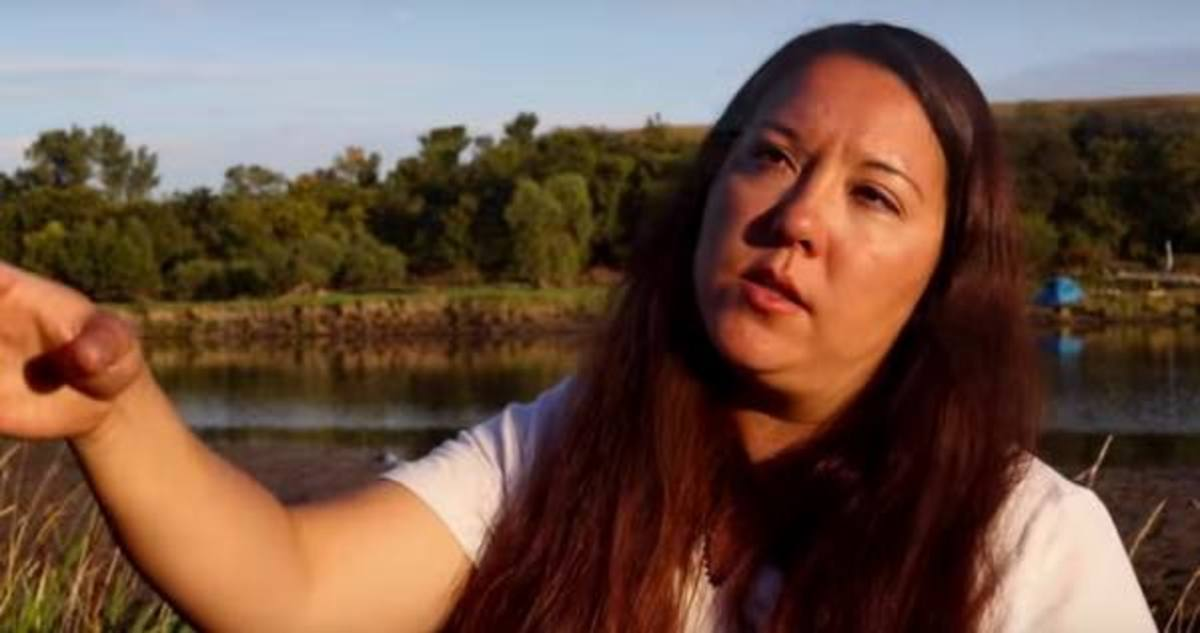 Kandi Mossett speaks to the importance of defending the sacred, at Standing Rock and everywhere.
