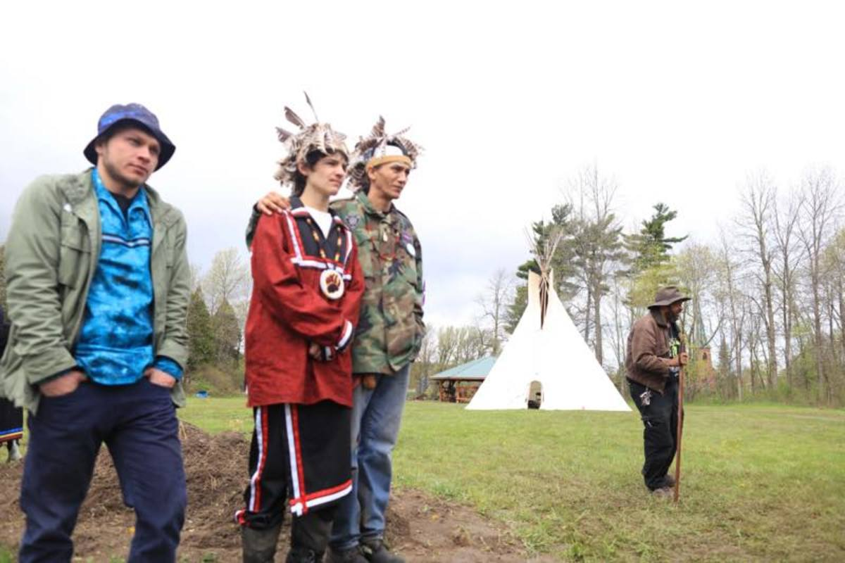 Mohawk youth opt to spend four years in rigorous training for adulthood.