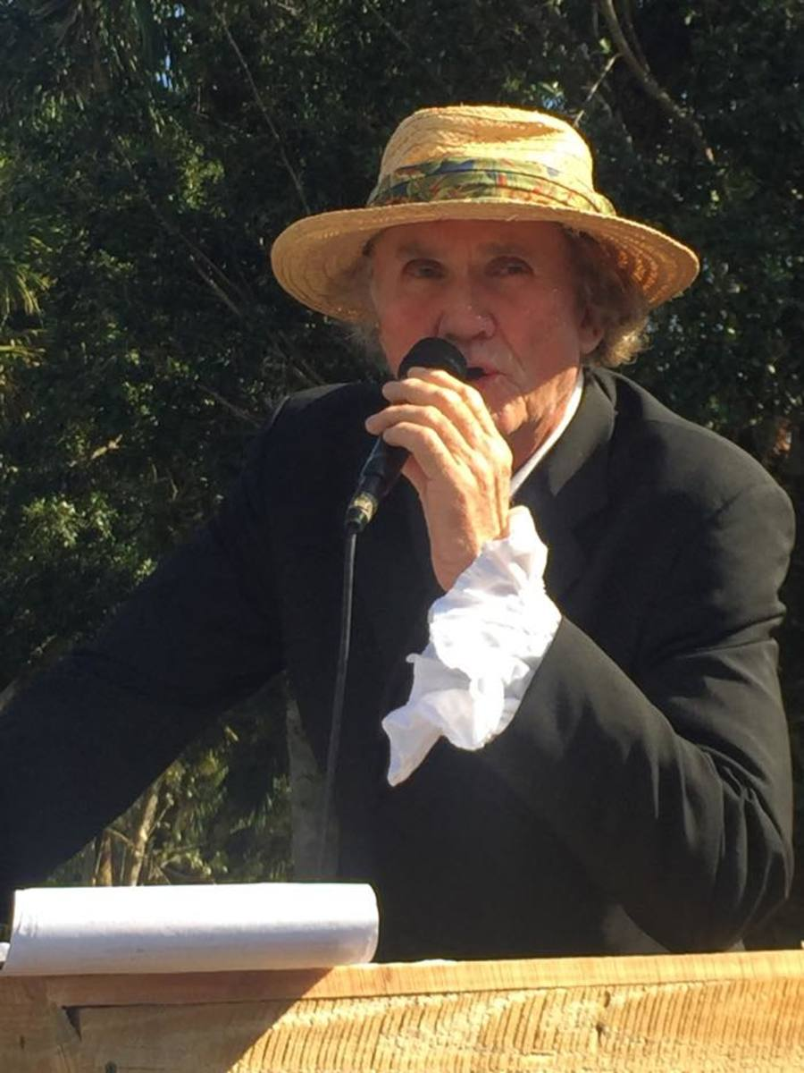 Guy Bachmann, president of the Loxahatchee Battlefield Preservationists, is among those trying to preserve a 300-year-old tree that Seminole Tribe warriors gathered around during the Second Seminole War.