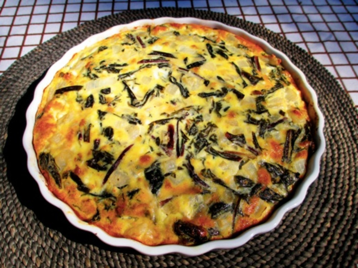 Real Indians eat quiche!