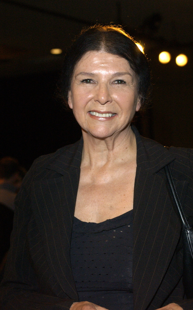 Alanis Obomsawin during 2004 Sundance Film Festival - Town Hall Meeting: Politics Beyond The Screen at Yarrow in Park City, Utah, United States.