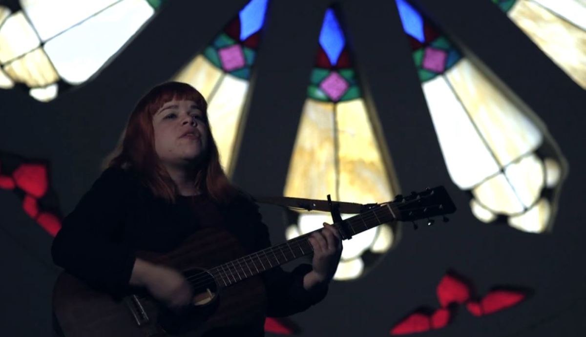 Samantha Crain sings and performs in her new mini-documentary