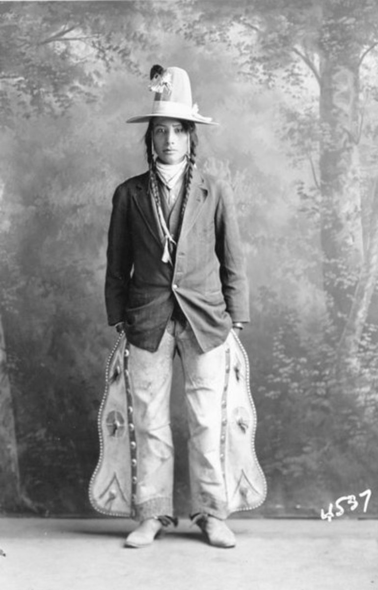 Young Man from Rocky Boy Indian Reservation. Montana. Undated.
