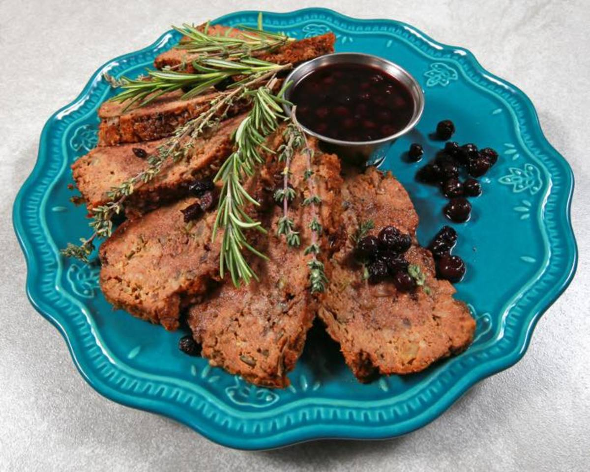With the popularity of Native cuisine, you may want to try this bison meatloaf with elderberry glaze by Chef Donell Barlow, Ottawa.