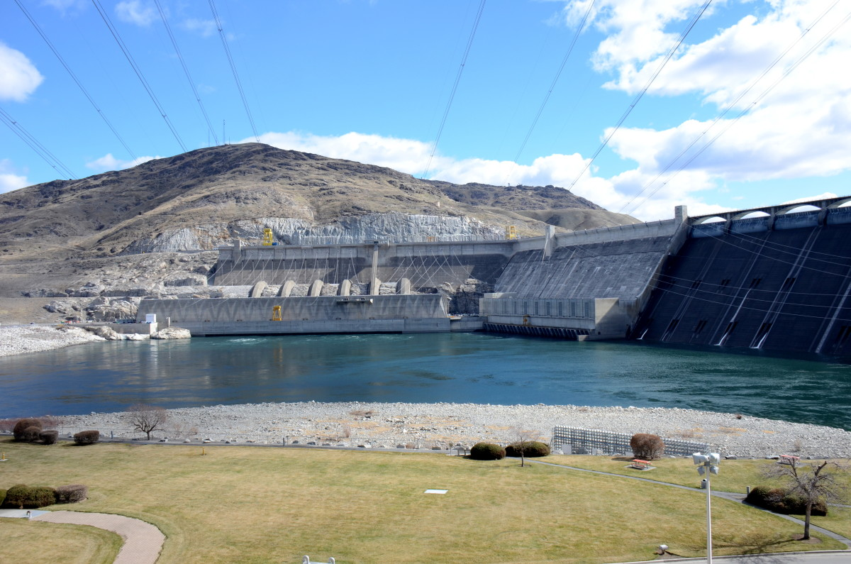 The Grand Coulee Dam ended Salmon migration to Spokane territories.