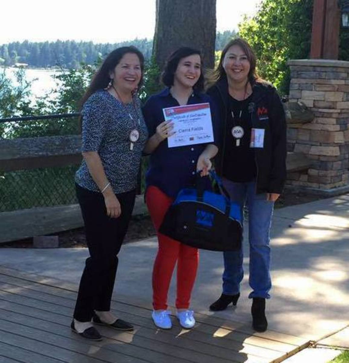 I was honored to attend the Native Action Network's Young Native Women Leadership Conference in Seattle, WA - Courtesy Cierra Fields