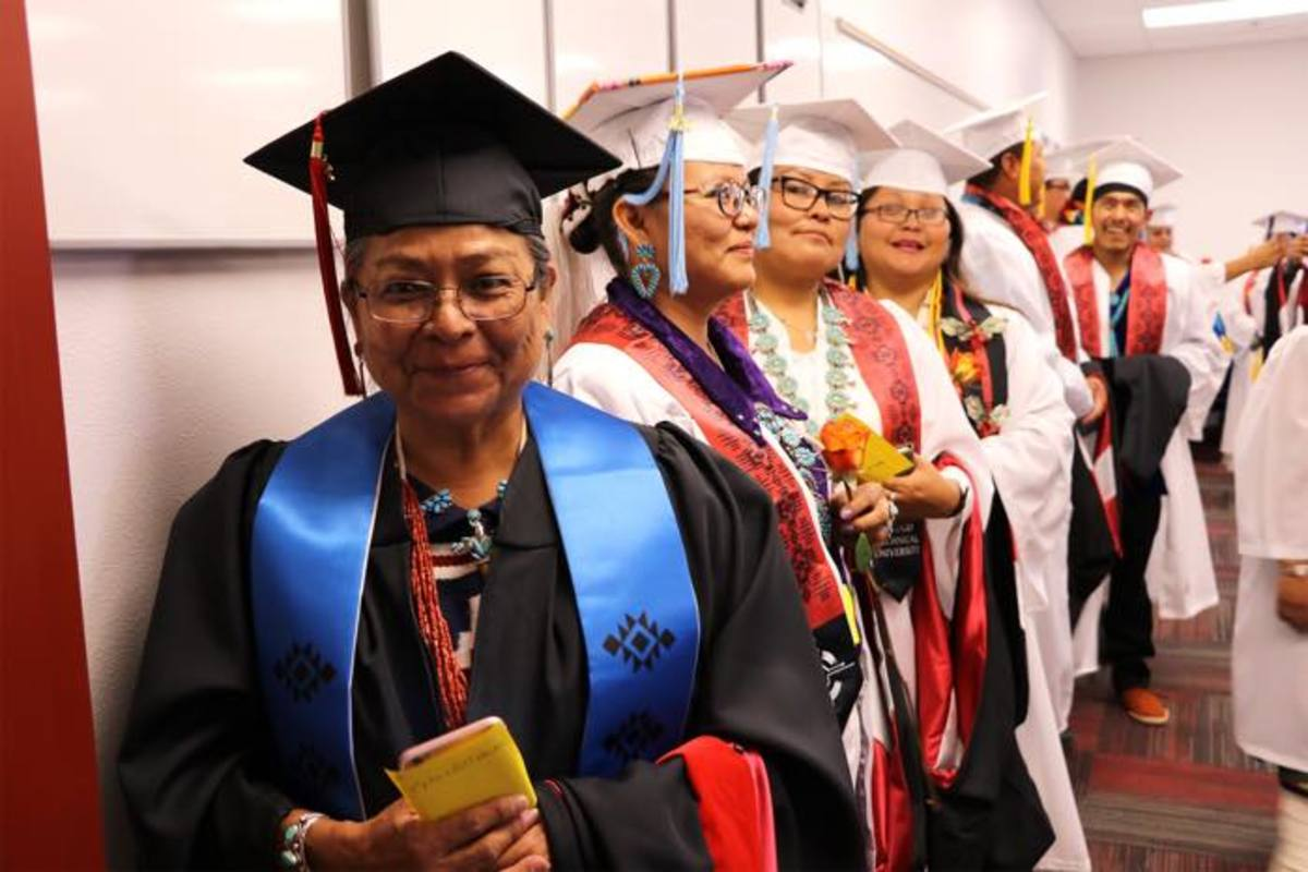 American Indian College Fund, Institute of American Indian Arts, Navajo Technical University, Native American Students, Native American Education, Navajo Nation, Jonathan Nez, Graduation, Native American Graduates, Higher Education, Tribal Colleges, Tribal Colleges and Universities