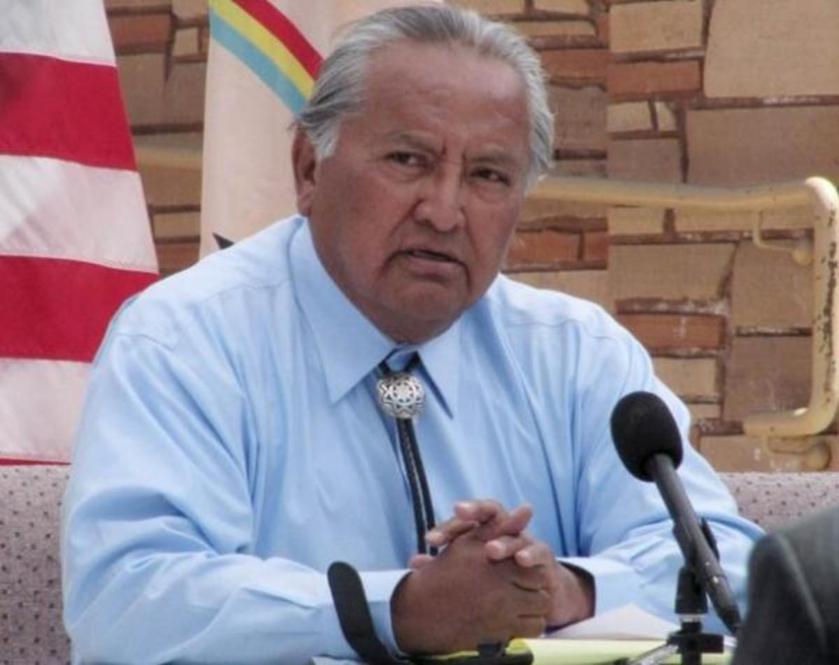 Navajo Supreme Court Chief Justice Herb Yazzie.The Navajo court system tries to apply standard common law whenever it can.