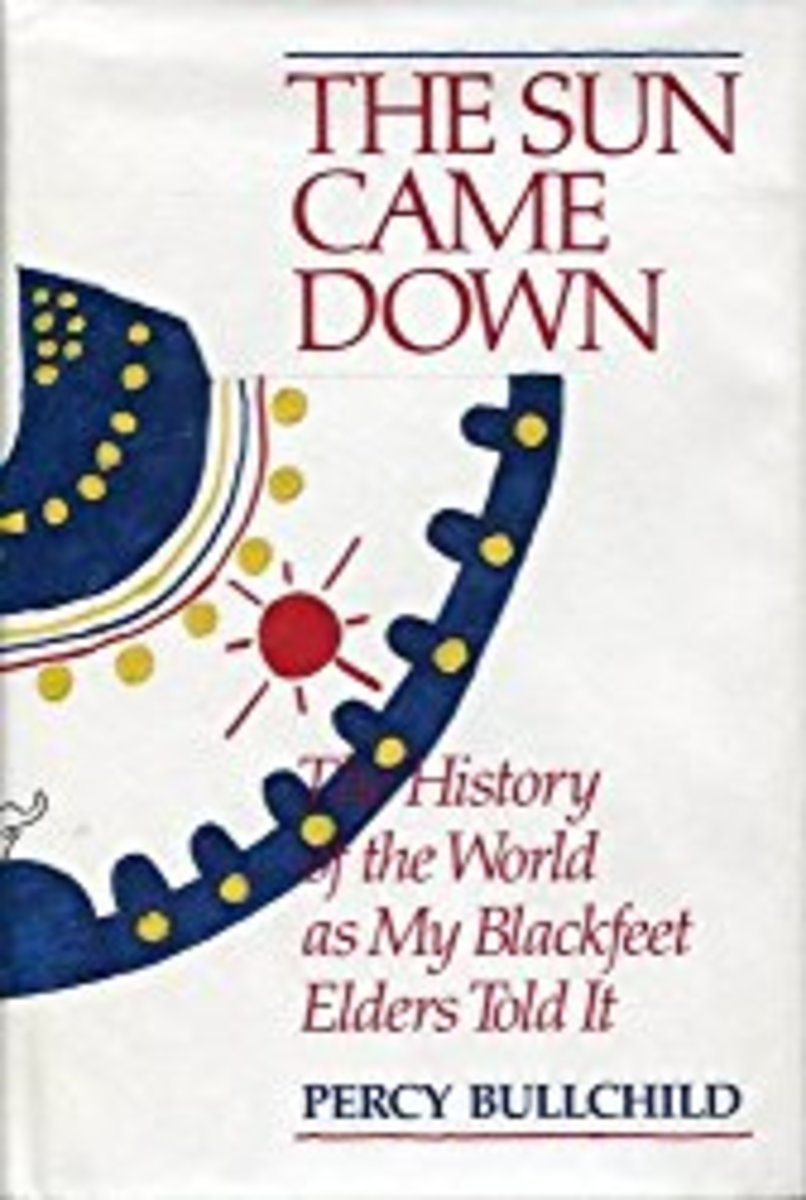 The Sun Came Down: The History of the World as My Blackfeet Elders Told It By Percy Bullchild, Amskapipikuni. Available at amazon.com.