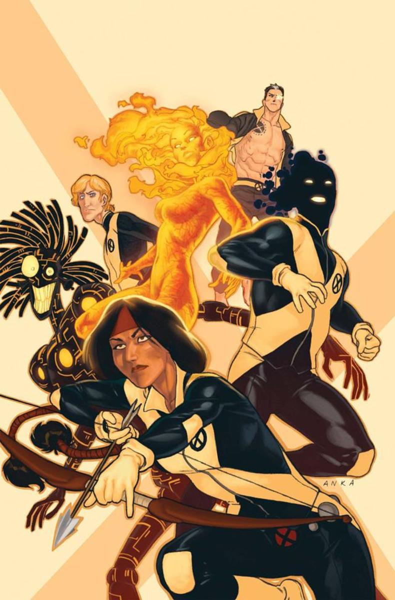 The New Mutants by Marvel Comics included a Native American mutant Danielle Moonstar as well as other diverse characters.