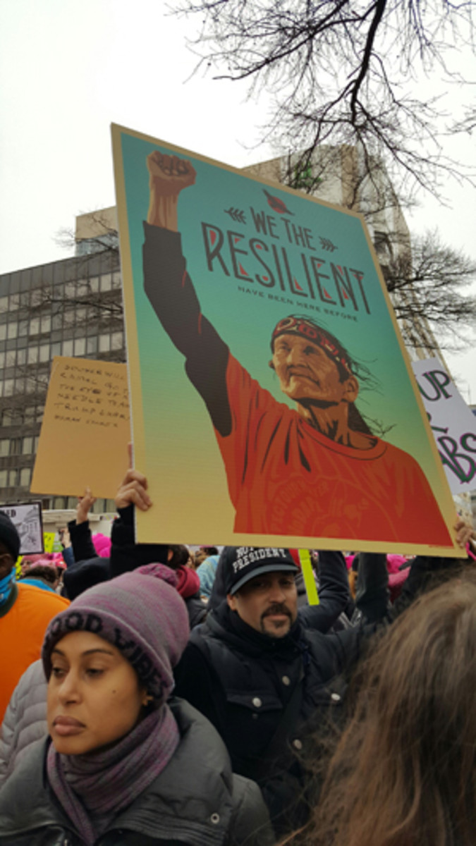 We the Resilient – Women's Protest March D.C.