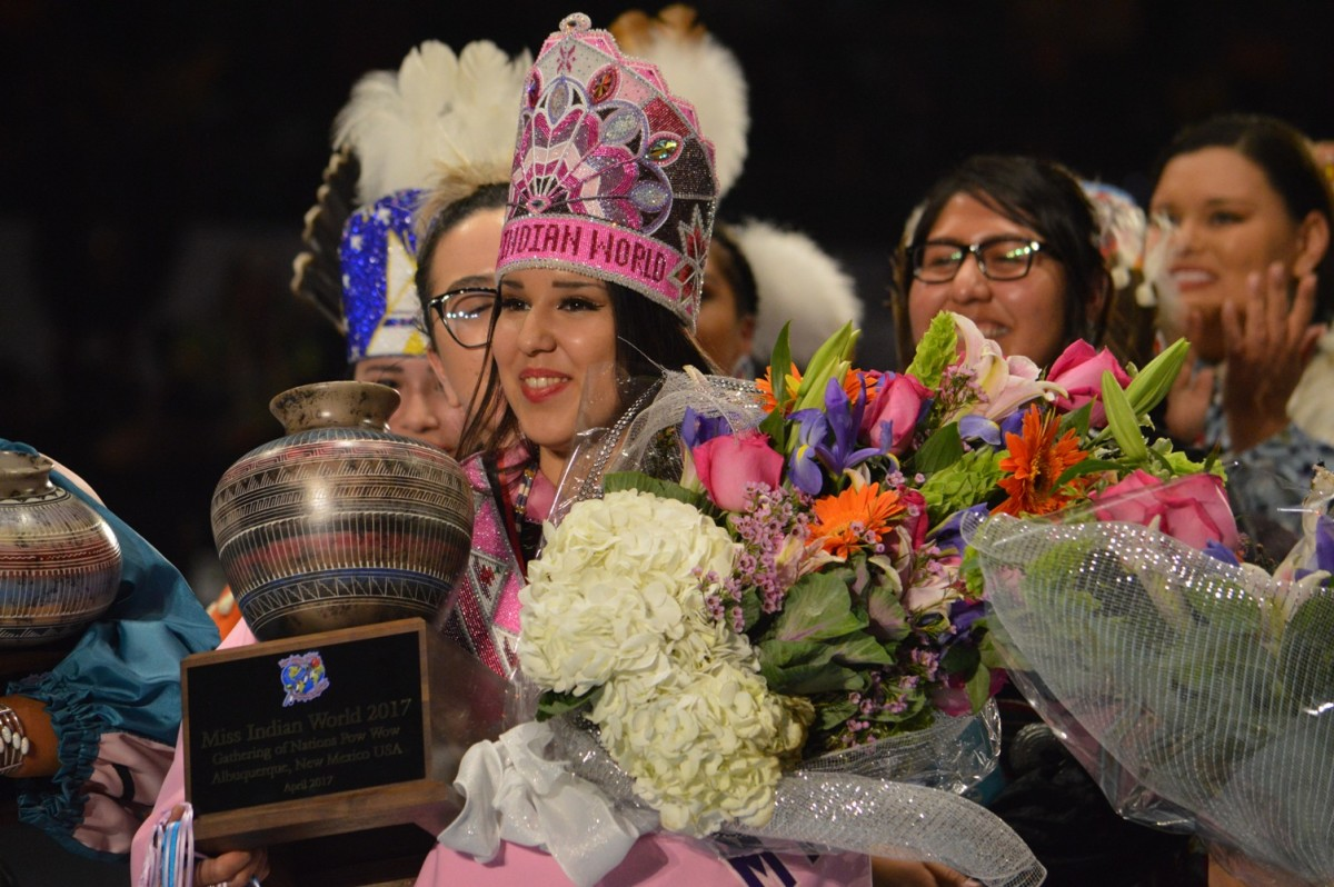 Raven Swamp Crowned as Miss Indian World 2017 - Courtesy Gathering of Nations