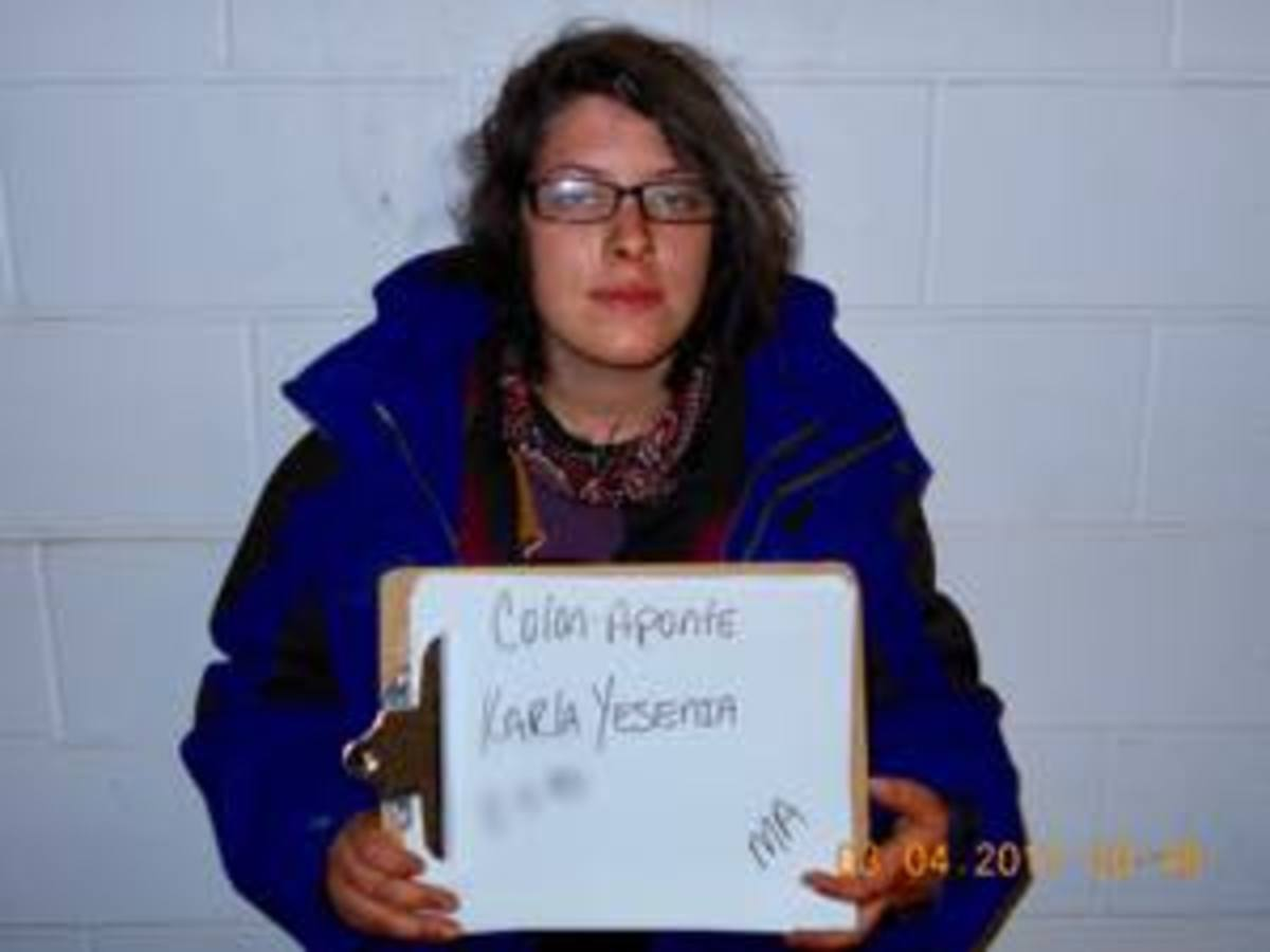 Karla Colon-Aponte, another water protector who shared a cell with Jenni Monet.